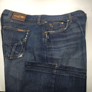 Lucky Santa Cruzer Mens Blue Jeans 38x34 Loose Fit